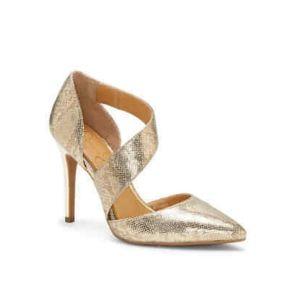 Jessica Simpson PINTRA 2 Karat Gold Stiletto Heel